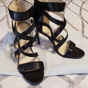 Calvin Klein Shimmery Strappy Size 8 Sandals